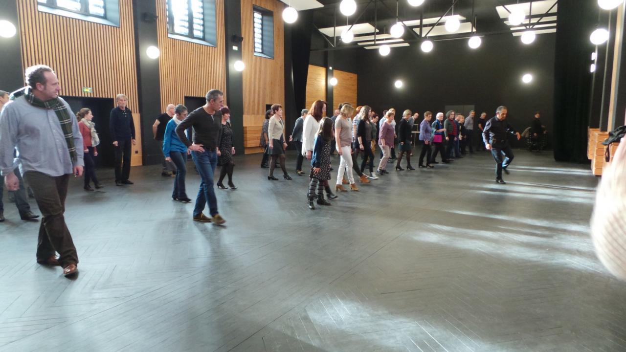 Stage danses en ligne du 28 janvier 2018